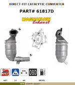 Pot catalytique pour Fiat 500 1.3 MJTD 1248 cc 55 Kw / 75 cv 169A1000 7/07>, Magnaflow