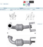 Pot catalytique pour Mitsubishi Colt 1.5i 16V Turbo 1468 cc 110 Kw / 150 cv 4G15 4/05>, Magnaflow