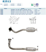 Pot catalytique pour Ford Escort 1.6i 16V 1597 cc 65 Kw / 88 cv ZH16 1/95>, Magnaflow