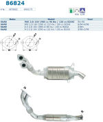 Pot catalytique pour Saab 9-3 2.0i 16V 1985 cc 96 Kw / 130 cv B204I 3/98>, Magnaflow
