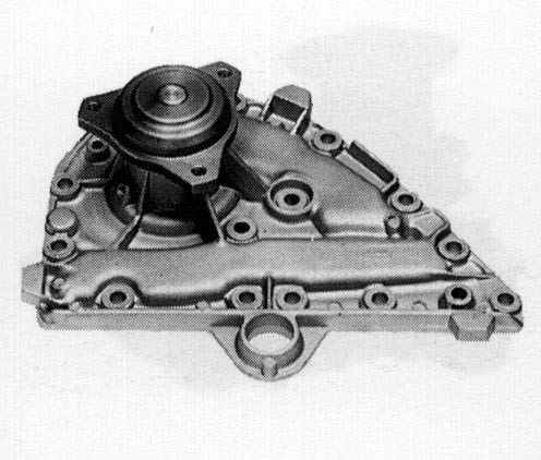 Pompe à eau pour Renault R18 1.6 Turbo / Break Turbo (R1345) de 1978 à 1985